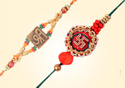 Send Om & Swastik Rakhi to Cochin
