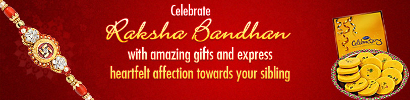 Celebrate Raksha Bandhan with amazing gifts and express heartfelt affection towards your sibling