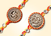 Send Silver Rakhi to Bhopal